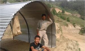 Tunnelhaus Talakhu 1